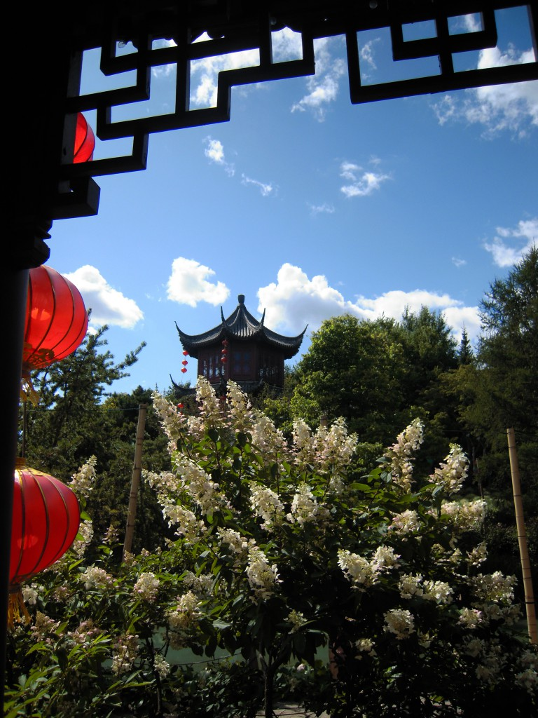 One of my favorite gardens was the Chinese garden. It was amazing to say the least. I mean look at it!
