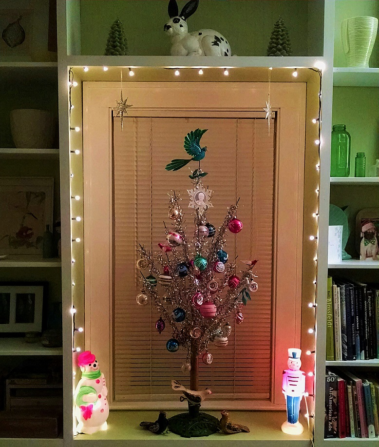 living room tree window