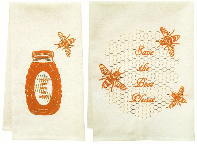 bee towels