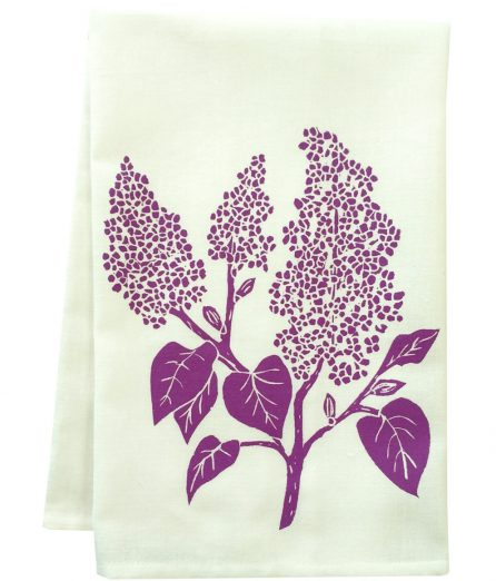 webiste ready towel lilac